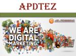 Apdatez - Designing Company in Mohali