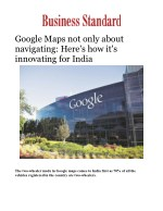 Google Maps not only about navigating: Here's how it's innovating for India