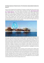 Cyber Security in Oil & Gas Market Analysis, Market Opportunities, Market Forecast-Ken Research