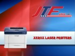 Xerox Laser Printers from JTF Business Systems