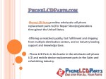 iPhone LCD Parts - Wholesaler of iPhone Samsung iPad LCD Screen Repair Parts USA