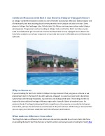 Celebrate Monsoon with Best 5 star Hotel in Udaipur-Vijaygarh Resort