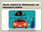 third-party car insurance online