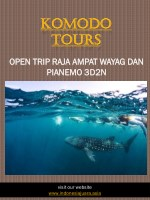 Komodo Tours | indonesiajuara.asia