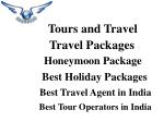 Book Online Tour Packages, Tours and Travel Bangalore – ShubhTTC