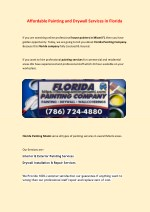House Painter in Miami Fl
