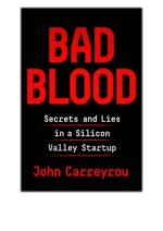 [PDF] Free Download Bad Blood By John Carreyrou