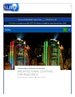 ARCHITECTURAL LIGHTING FOR BUILDINGS