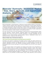 Muscular Dystrophy Treatment Market Opportunity Analysis, 2026