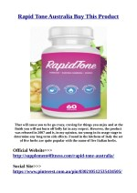 Buy Now>$>http://supplement4fitness.com/rapid-tone-australia/