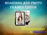 Hoarding and Photo Frames Editor - Free Image Editor