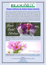 Flowers Delivery by Online Flower Services