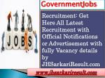 Governmentjobs