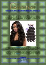 Choose the Best Affordable Malaysian Virgin Hair