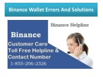 Binance Issues Call Binance support number 1855-206-2326 For USA.