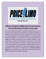 Price4limo provide the Charter Bus for rent in denver, colorado