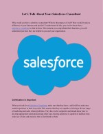 Salesforce Partners | Salesforce Certified Consultants