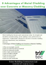 8 Advantages of Metal Cladding over Concrete or Masonry Cladding