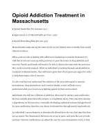 Opioid Addiction Treatment in Massachusetts