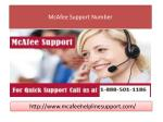 McAfee Support Number1-888-501-1186