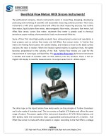 Beneficial Flow Meters With Sincere Instruments!