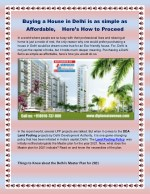Buying a House in Delhi is as simple as Affordable, Here's How to Proceed