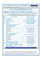 ISO 37001:2016 Documentation Requirement