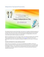 Independence Day Special Fine Jewellry