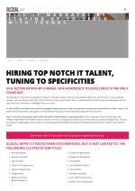 IT Recruitemnt Outsourcing Companies in US, Recruiting Process - Glocal RPO