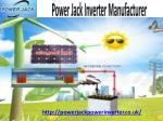 Buy Top Quality Power Jack Inverter UK