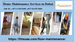 Get Home Maintenance Services in Dubai | Focus House