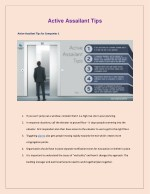 Active Assailant Tips for Companies