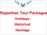 Luxury Rajasthan Tour Package with Best Price – ShubhTTC