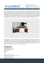 Vocational Training Laboratory Equipments Suppliers India