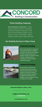 Professional Plano Roofing Company