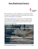 PDF | Best Knee Replacement Surgery in Pune by Dr Anshu Sachdev