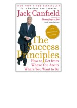 [PDF] Free Download The Success Principles(TM) - 10th Anniversary Edition By Jack Canfield & Janet Switzer