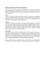 About Gravity Conveyor Systems