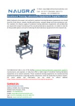 Vocational Training Laboratory Equipments Suppliers-Civil Mechanical India