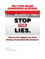 5 STEP ONLINE SUCCESS BLUEPRINT