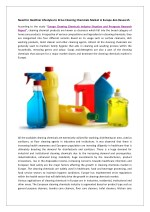 Europe Cleaning Chemicals Market Overview, Market Segmentation-Ken Research