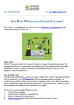 How Does RPA Automate Business Processes