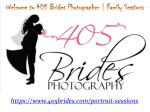 Welcome to 405 Brides Photographer Family Sessions