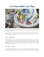 Hipp Baby Care Products