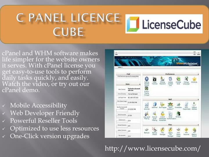 PPT - C Panel LICENCE cube PowerPoint Presentation - ID:7971987