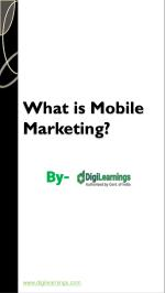 Mobile & Digital Marketing Course in Jaipur - DigiLearnings