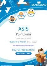 PSP Exam Dumps - Get Valid PSP PDF Questions Answers
