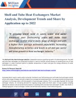 Shell and Tube Heat Exchangers Market Size and Gross Margin Analysis to 2022 by Million Insights