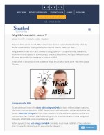 MBA In Finance Course Stratford University