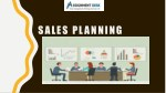 Detailed Analysis of Strategies in Sales Planning for Marketing